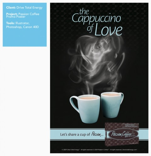 Poster Design in San Diego: Passion Coffee